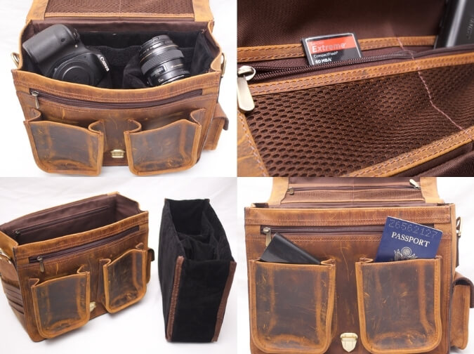 Leather Hector Camera Bag