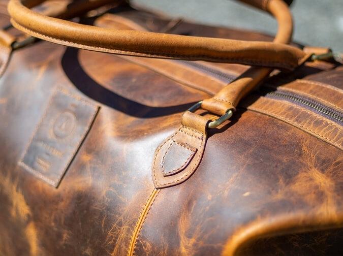 Leather Collingwood Traveler Bag