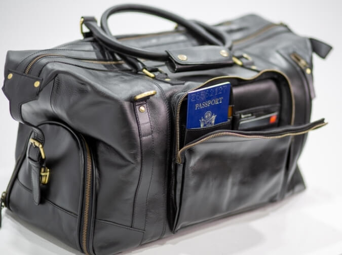 Rufus Travel Leather Bag