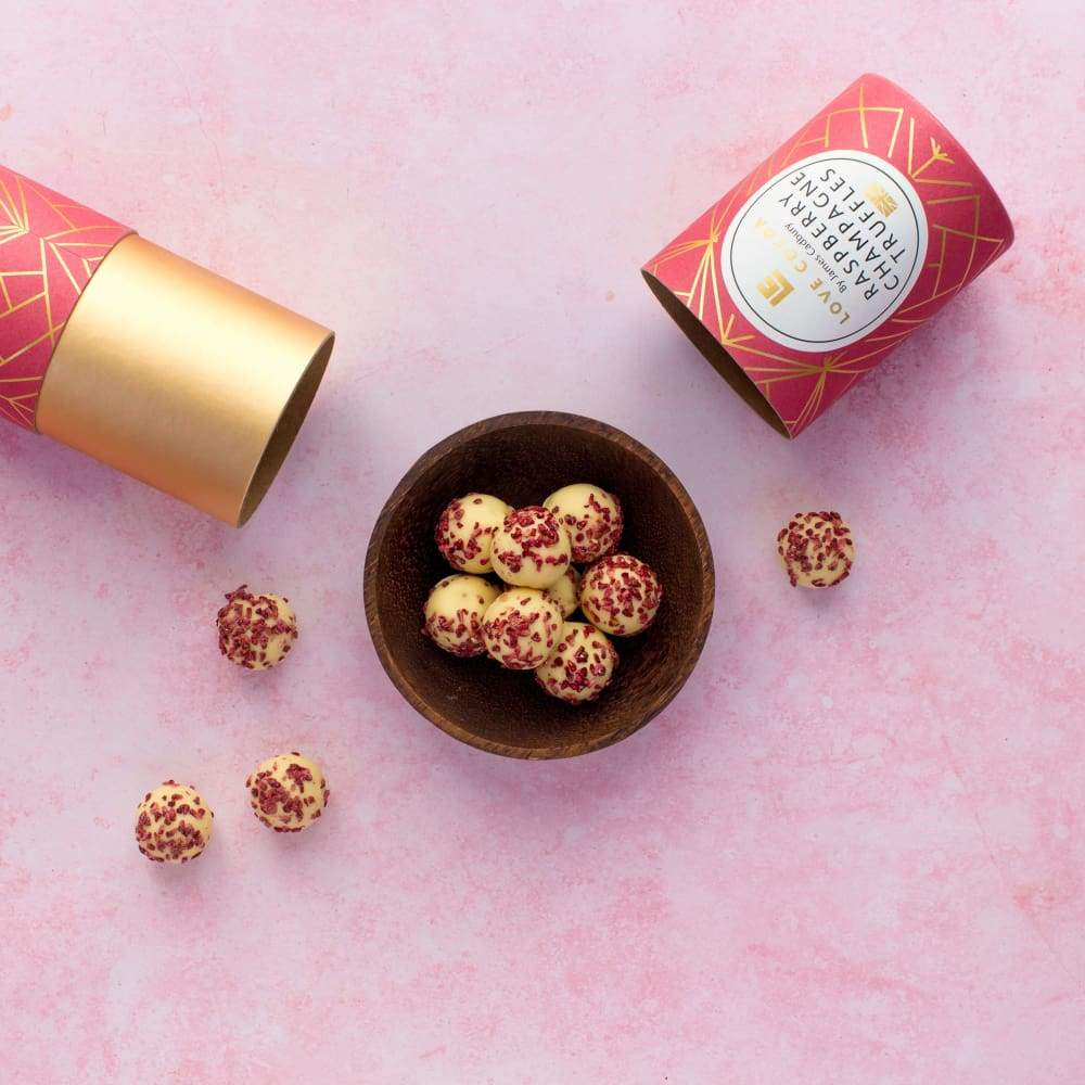Love Cocoa GIFTING | CL Pink Gin Chocolate Truffles 150g