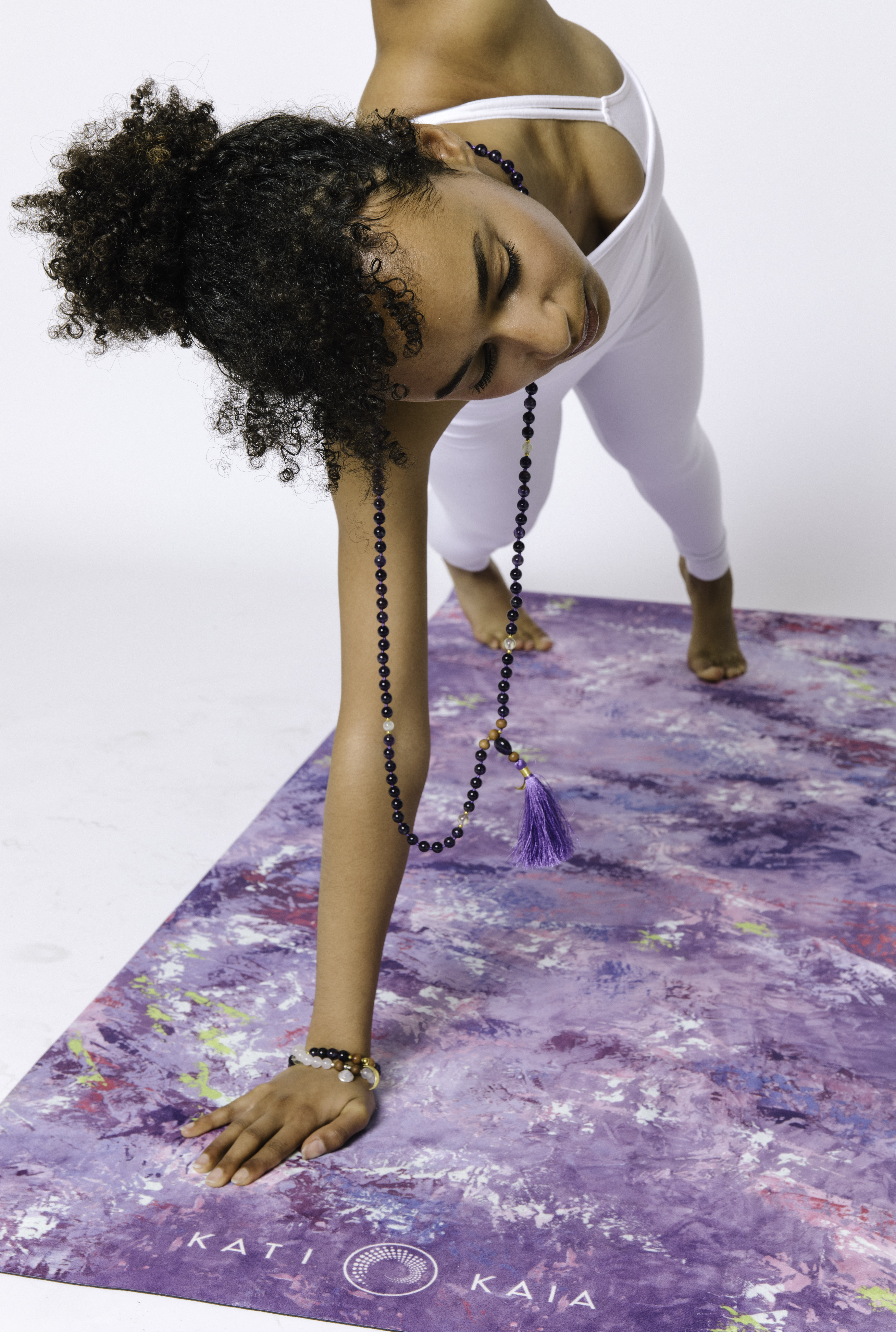 Natural Rubber Nephele Yoga Mat HOME | CL Kati Kaia