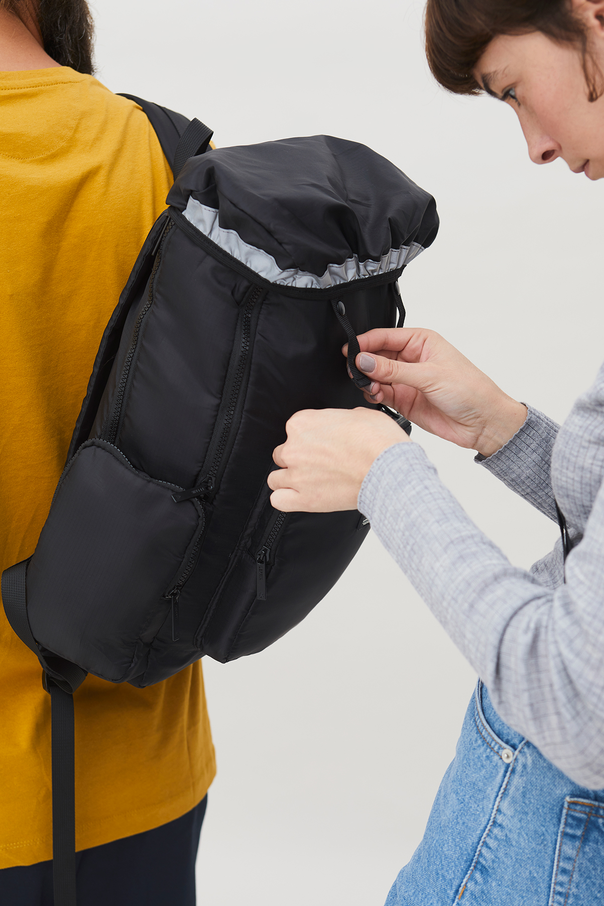 Scout 100% Recycled PET Backpack Mustard BAGS | Unisex Lefrik