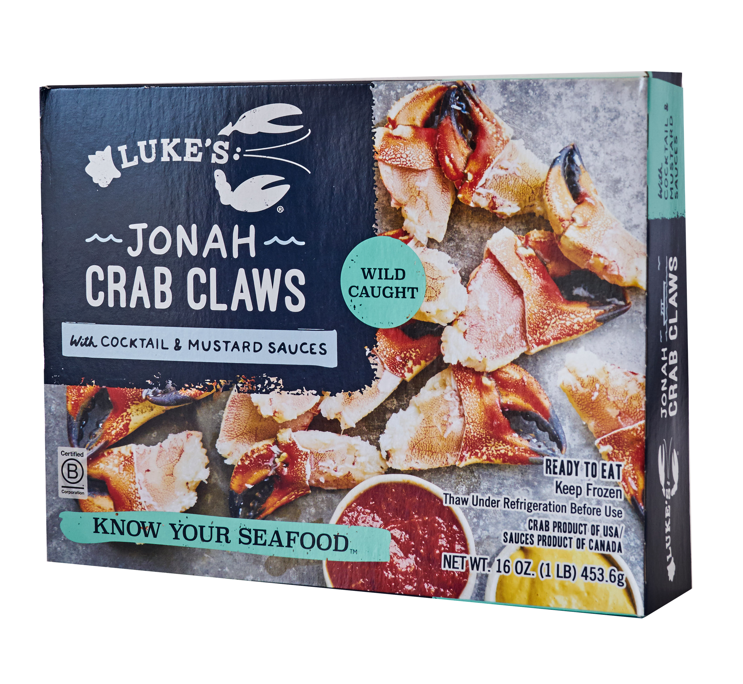JONAH CRAB CLAWS WITH COCKTAIL AND MUSTARD SAUCES