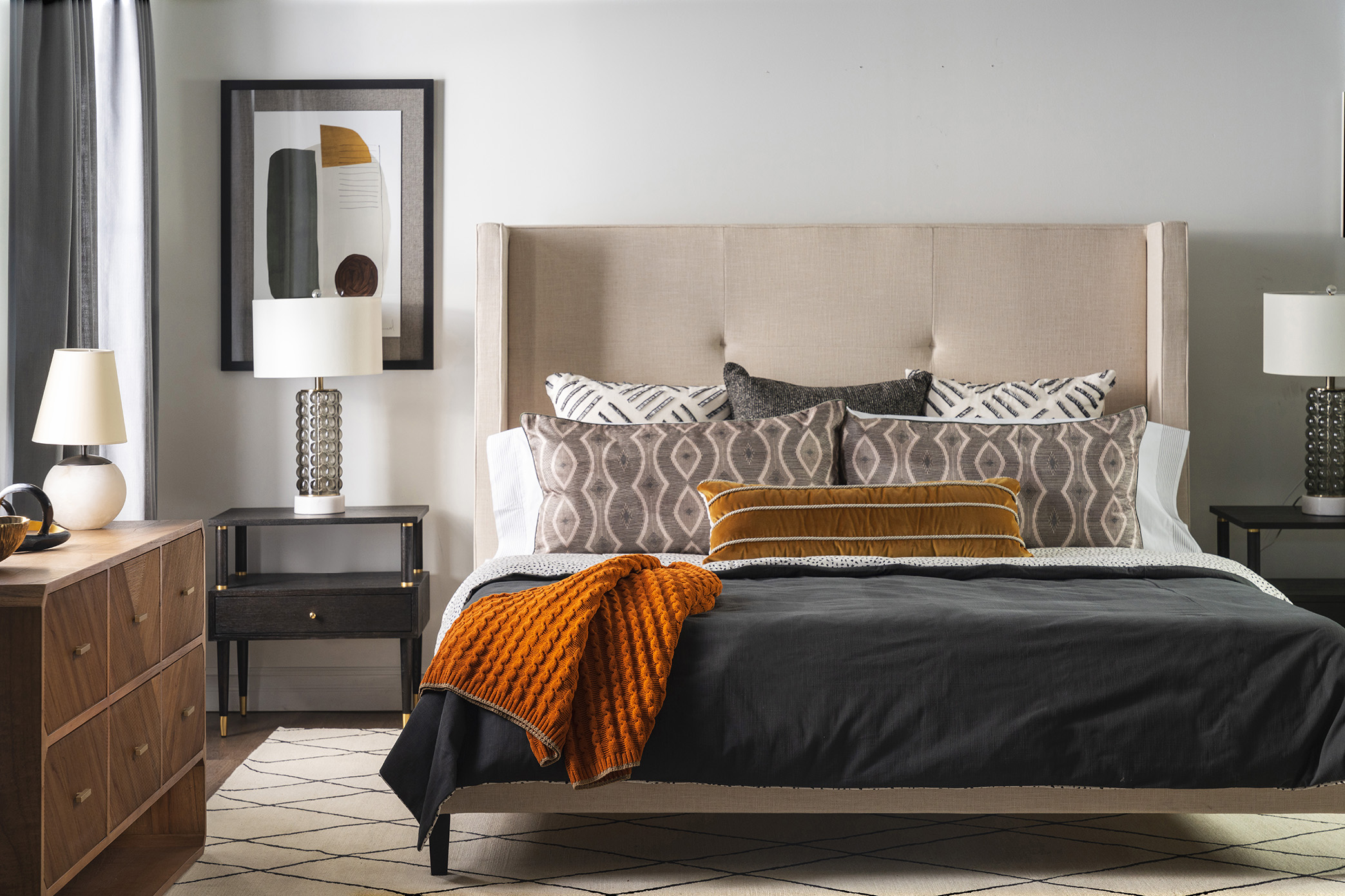Image of bed-king